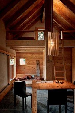 drewniany domek
